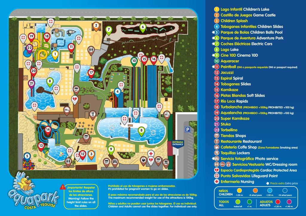 AQUAPARK map 2017