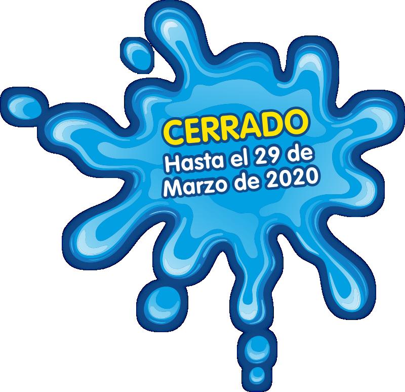 cerrado hasta 29 marzo 2020